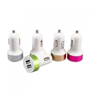Carregador Veicular C/2 USB 2.1A S/Cabo