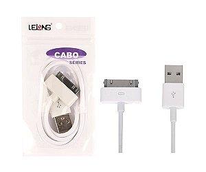 Cabo USB p/Ipad/4G 1M LE-106
