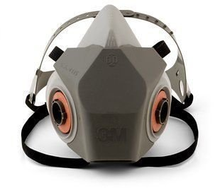 Respirador Reutilizável Semifacial 3M Série 6200 Completo
