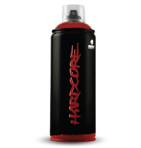 MTN HARDCORE tinta spray 400ml