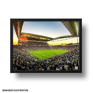 Quadro Arena Corinthians Hospício Lotado
