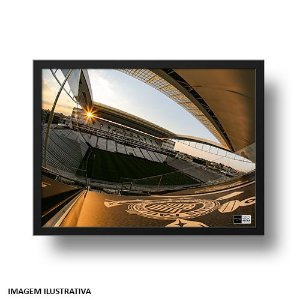 Quadro Arena Corinthians Pôr do Sol