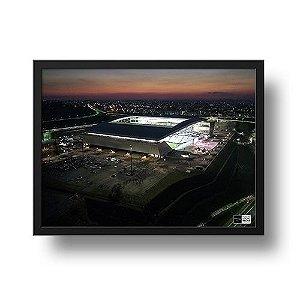 Quadro Arena Corinthians e o Drone