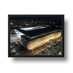 Quadro Arena Corinthians - Prédio Oeste