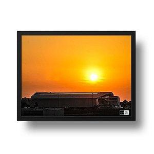 Quadro Arena Corinthians e o Sol - Fiscal da Fiel