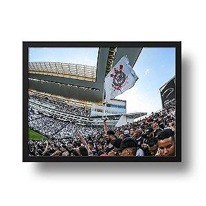 Quadro Arena Corinthians e a Nossa Paixão
