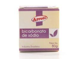 Bicarbonato de Sódio 80 g - caixinha