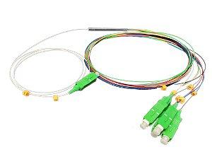 Splitter PLC 1×4 SC/APC