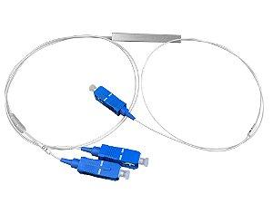 SPLITTER 1X2 CONECTORIZADO SC/UPC