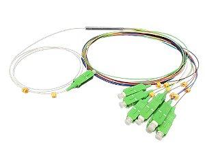 SPLITTER 1X8 CONECTORIZADO SC/APC