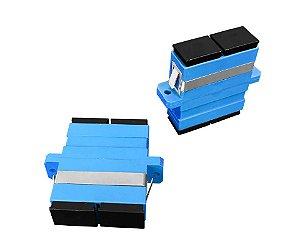 Adaptador óptico DUPLEX - SC/UPC - 10 unidades