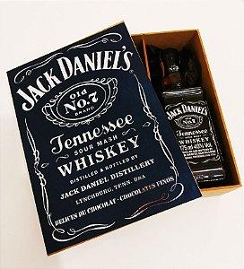 Caixa de whisky Jack Danile's