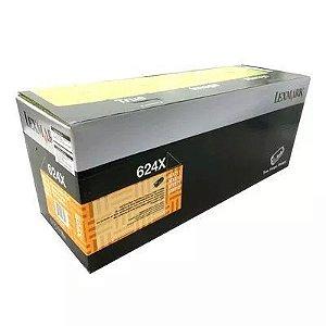 Cartucho toner 624X Lexmark MX710 MX711 MX810 MX811 MX812 45K