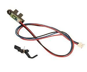 Conjunto sensor saída mecanismo fusor Lexmark E230 E240 E330 E332 E340 X203 X204 X340 X342