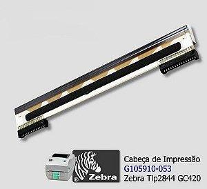 Cabeça de impressão Zebra 203 DPI TLP2844 GC420