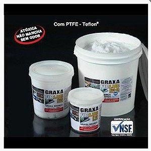 Graxa base TEFLON com fluido de silicone para lubrificar película fusor 1KG K30