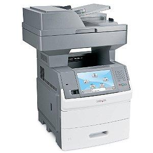 Impressora Multifuncional Lexmark X656de (seminova revisada com suprimentos)