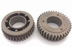 Jc66-01588a Engrenagem rolo fusor SAMSUNG ML3050 ML3471 SCX5135 SCX5235 SCX5330 SCX5530 SCX5535 SCX5635 SCX5935