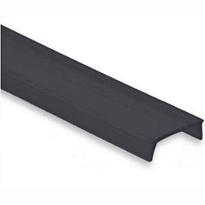 Difusor Black Fumê para Perfil Led Lum21 Lum22