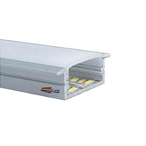 Perfil Led Alumínio Embutir Slim 3,2cm x 0,9cm - LUM51SL