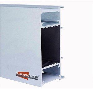 Perfil Led Alumínio Sobrepor Arandela 4,2cm x 8,5cm - LUM91