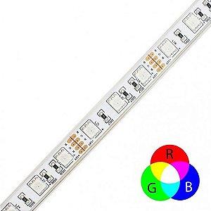 Fita LED RGB 10Wm 5050 60Ledsm – IP65 - LUMF33