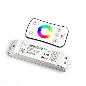 Controladora Com Função Wireless + controle remoto RGB 5A -4CH (12V) & 120W (24V) - LUMD02