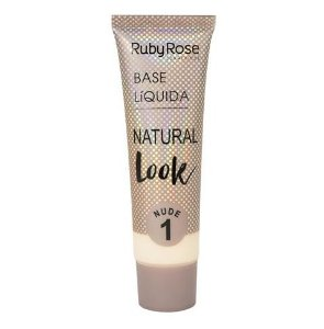 Base Líquida Natural Look HB8051 (NUDE) - Ruby Rose