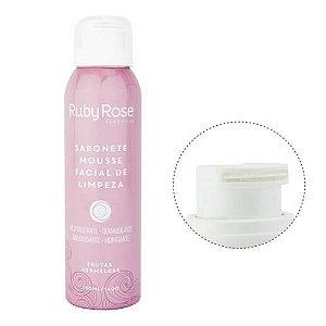 Sabonete Mousse Facial de Limpeza Frutas Vermelhas HB321 - Ruby Rose