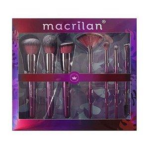 Kit 7 Pincéis Violet ED005 - Macrilan