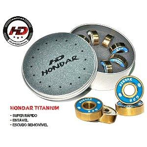Rolamento Hondar Titanium c/ espaçadores