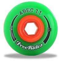Rodas Abec 11 Freeride 72mm 81A
