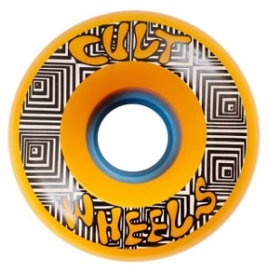 Roda Cult Wheels Converter 70mm 85A Laranja