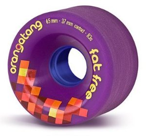 Roda Orangatang Fat Free 65mm 83a