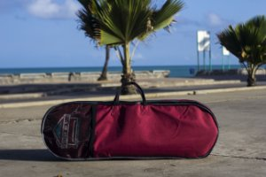Skate Bag Mochila para longboard Love On Wheels