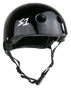 Capacete S1 Helmets Lifer Black Gloss