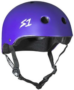 Capacete S1 Helmets Lifer Purple Matte