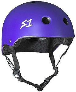 Capacete S1 Helmets Lifer Purple Matte