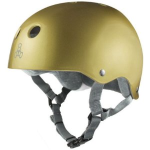 Capacete Triple 8 Brainsaver Gold