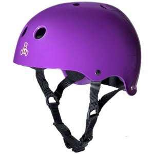 Capacete Triple 8 Brainsaver Purple