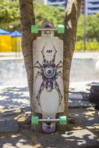"Longboard Completo Hondar God's Eye 37"" Top Mount"