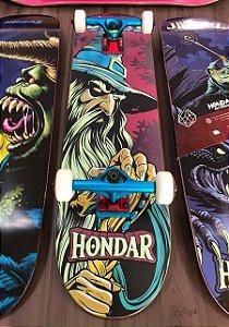 "Skate Hondar Profissional Completo 31"" x 8''"