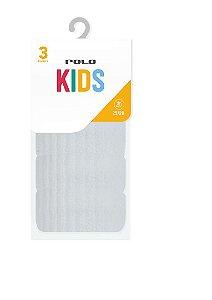 Kit Kids Calcanhar e Pontas Atoalhadas - Tamanho: 25 a 28