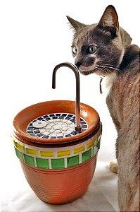 Bebedouro Fonte para Gatos - Brasil Deluxe