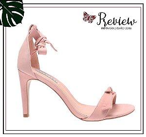 Sandália Lia Line rosa blush!