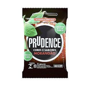 Preservativo Prudence Cores Sabores Morangão