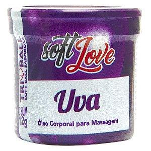 Bolinha Tri Ball Beijável Uva Soft Love