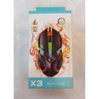 Mouse Gamer X3 RGB Color Best Choice