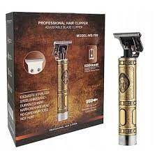 Barbeador Elétrico Profissional Hair Clipper Ws-t99