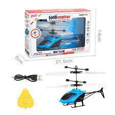 Helicóptero Por Indução Recarregável Usb Infravermelho